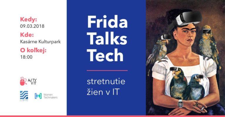 Frida Talks Tech: event, na ktorom sa stretne takmer 200 žien z IT odvetvia