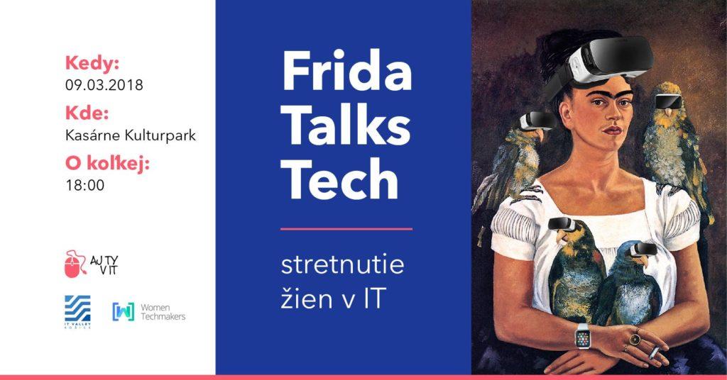Frida Talks Tech: event, na ktorom sa stretne takmer 200 žien z IT odvetvia 1