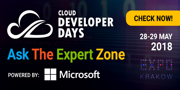 Blížia sa CLOUD DEVELOPERDAYS v Krakowe 3