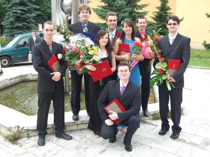 Skupina najlepších študentov Informatiky KPI 2010