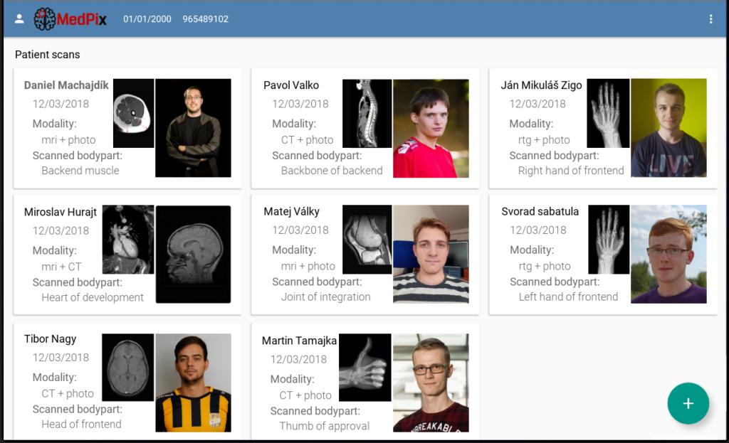 MedPix: Zjednodušenie analýzy medicínskych obrazových dát 5
