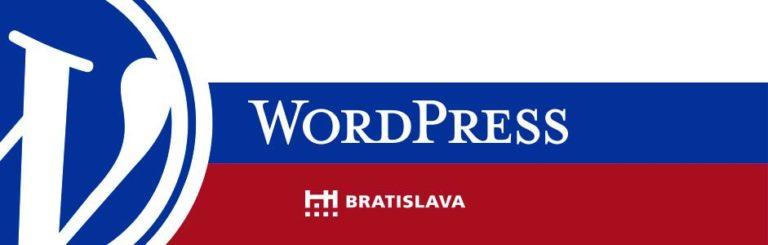 WordPress Bratislava