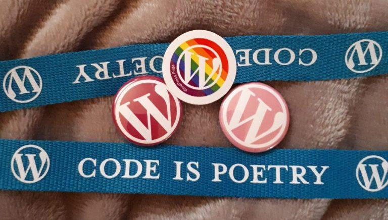 Bola som na WordCampe a dostala som ponožky