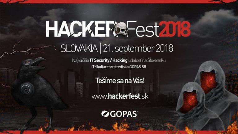 [Súťaž] HackerFest po prvýkrát na Slovensku: využi Early Bird ponuku!
