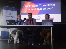 Tlačový brífing k hodnoteniu štátnych IT projektov