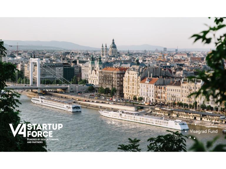 Prvý vzdelávací V4 Startup Force Program sa spustí na jeseň v Design Terminal