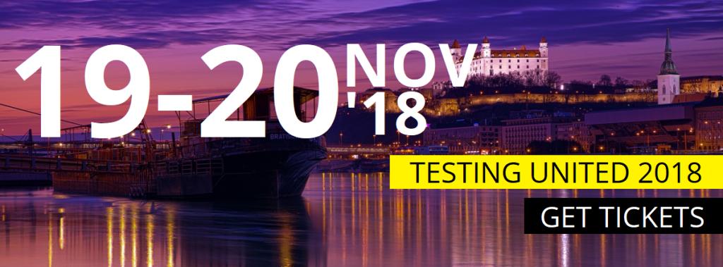 [Súťaž] Konferencia Testing United tento rok v Bratislave! 1