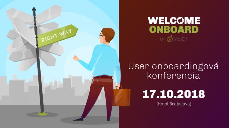 [Zľava na lístok] Prvá user onboarding konferencia v Európe!