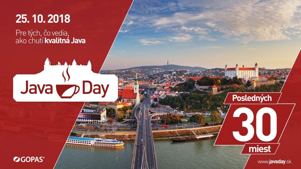 Vieš, ako chutí kvalitná Java? Dozvieš sa na JavaDay 2018 1