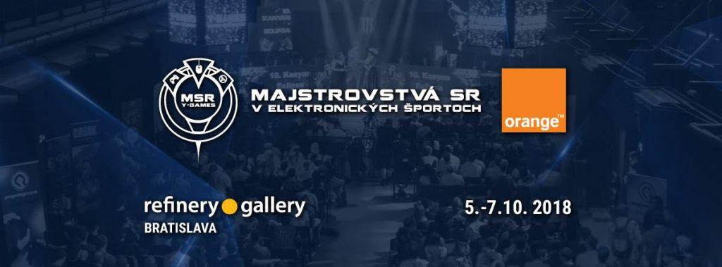 Orange Majstrovstvá SR v elektronických športoch 2018 už klopú na dvere! 11