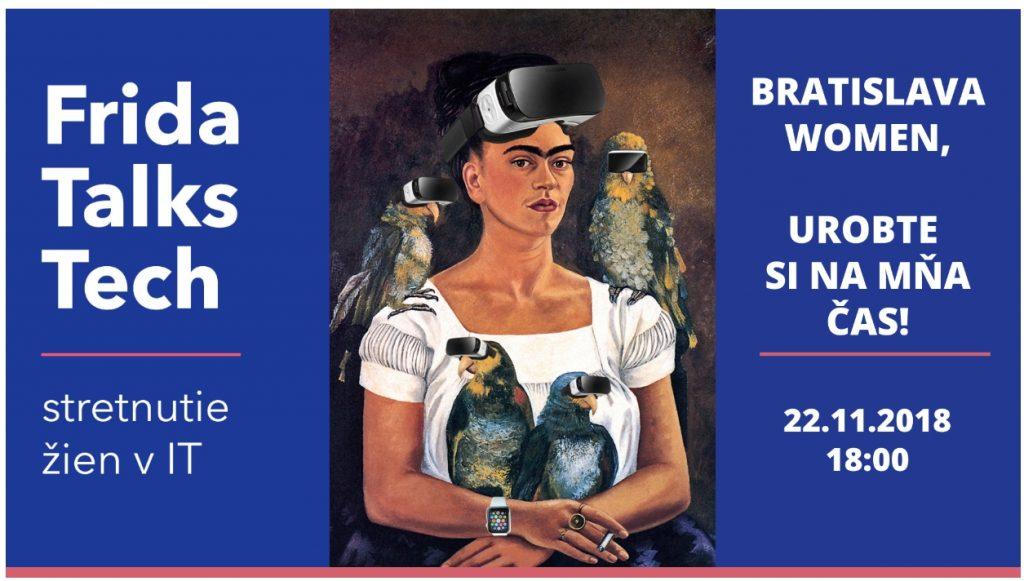 Frida Talks Tech Bratislava edition II. 1