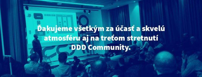 Čo odznelo na 3. meetupe DDD Community