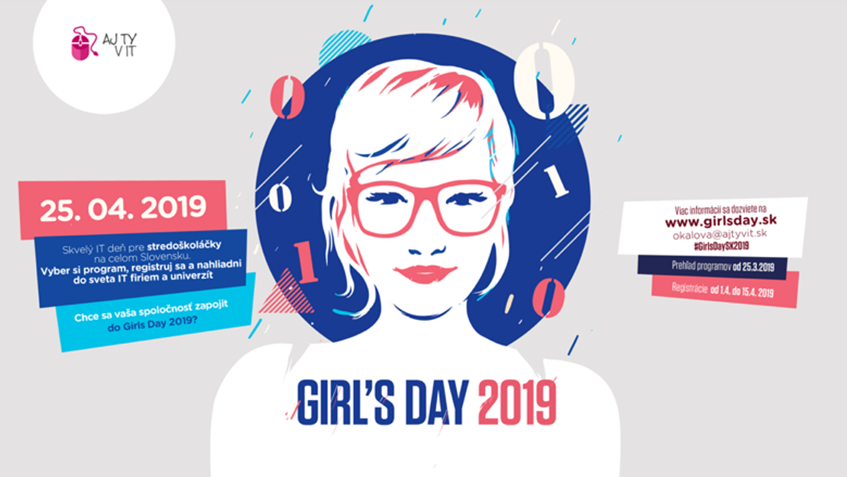 Aj Ty v IT vyzýva organizácie, aby sa pridali ku Girl's Day!