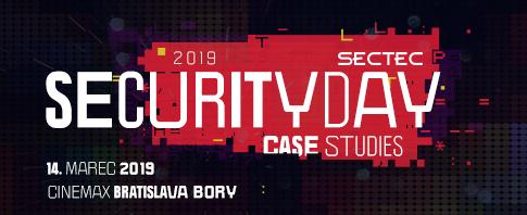 [Súťaž] Registrácia na konferenciu SecTec Security Day 2019 spustená!