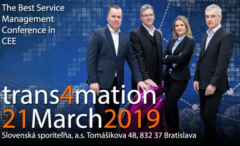 [Súťaž] trans4mation – The Best Service Management Conference in CEE