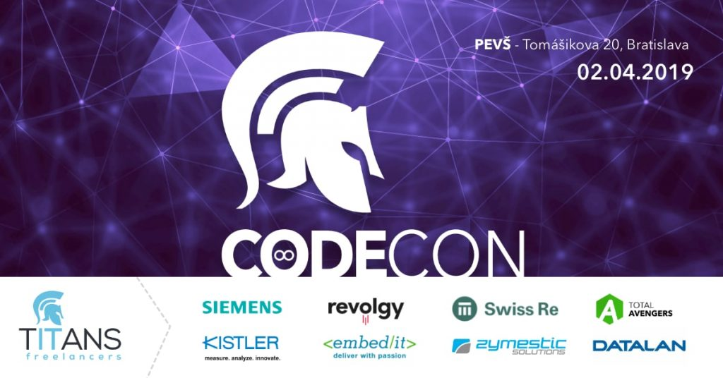 CodeCon 2019: od vývojárov pre vývojárov