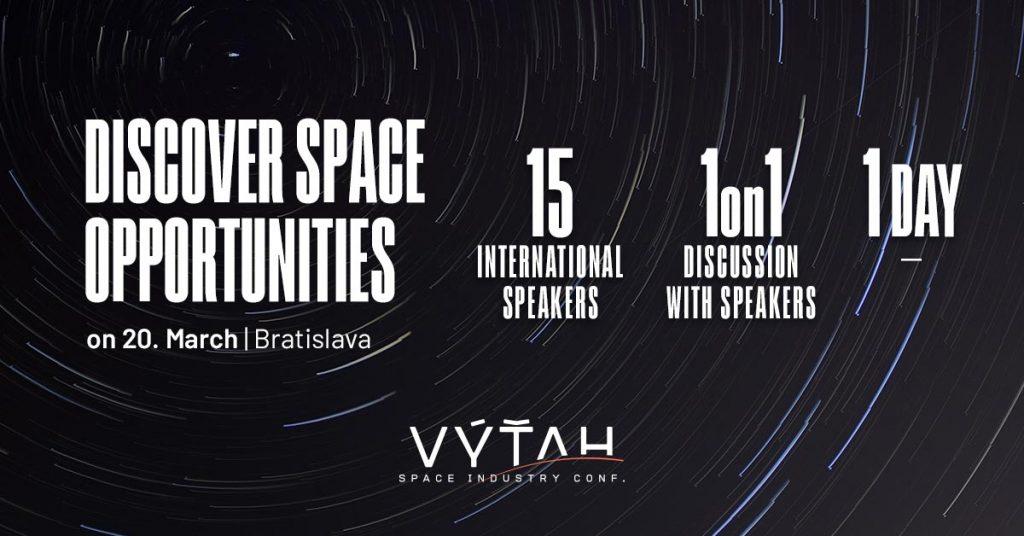 [Súťaž]VýťahConf - discover space opportunities 1