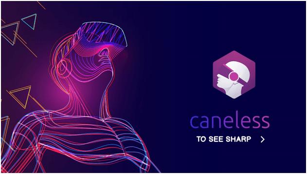 Caneless – holografické oči