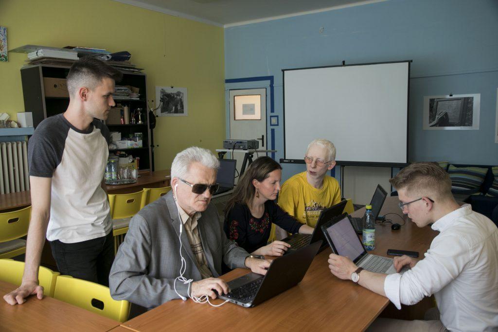 Webable – webový prehliadač pre nevidiacich 3