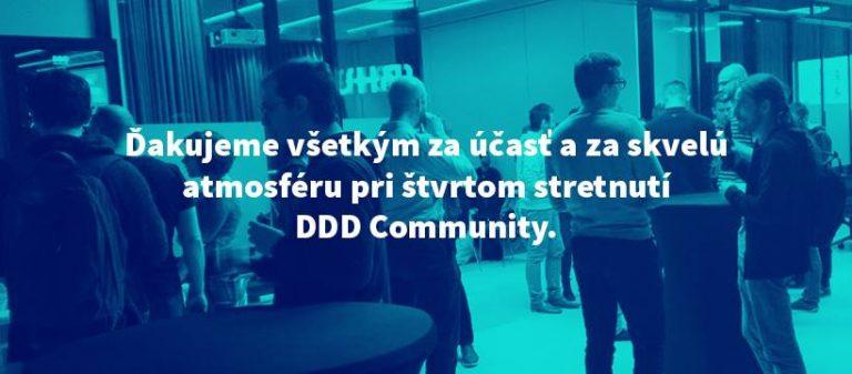 Ako bolo na štvrtom stretnutí DDD Community?