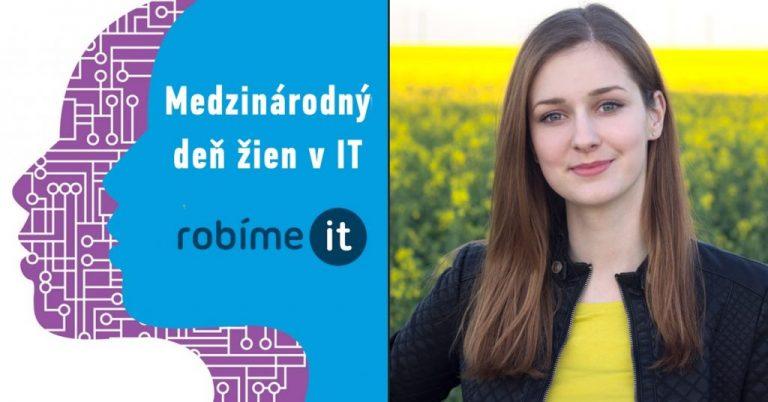 Zuzana Bašovská: IT znamená zjednodušiť ľuďom život