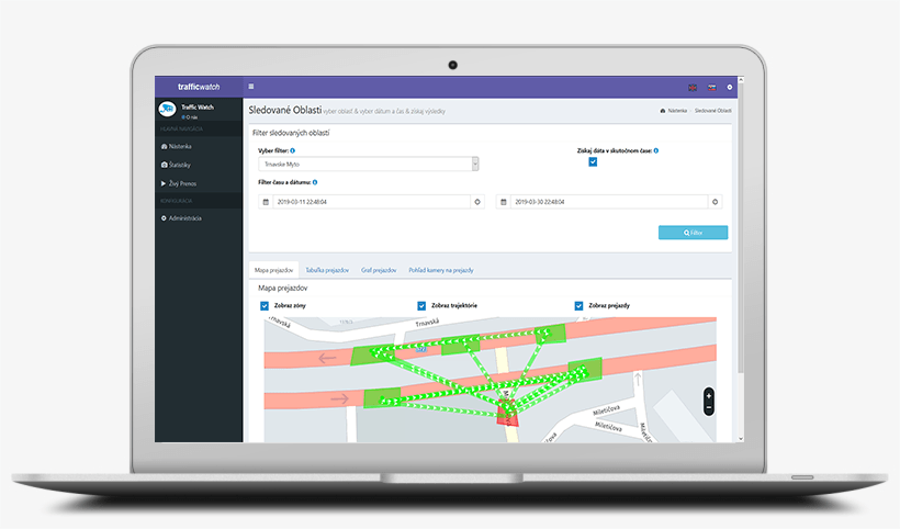 TrafficWatch – Monitoring dopravy pre inteligentné mestá 5