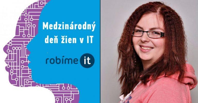Barbora Svobodová: V dnešnej dobe je už takmer všetko IT