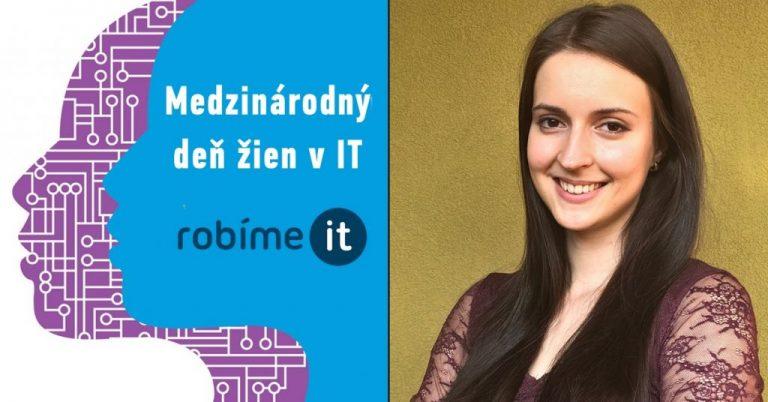 Simona Demová: Ženy prinášajú do IT nový uhol pohľadu.