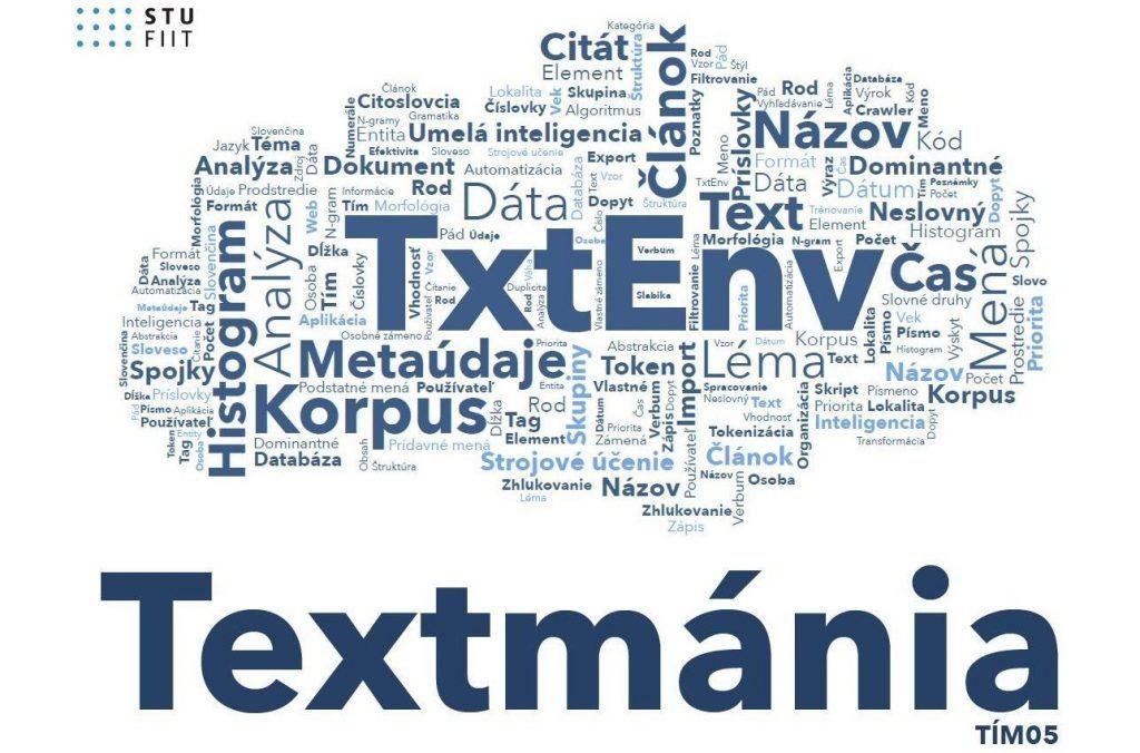 TextMania - Prostredie pre inteligentnú analýzu slovenského textu 1