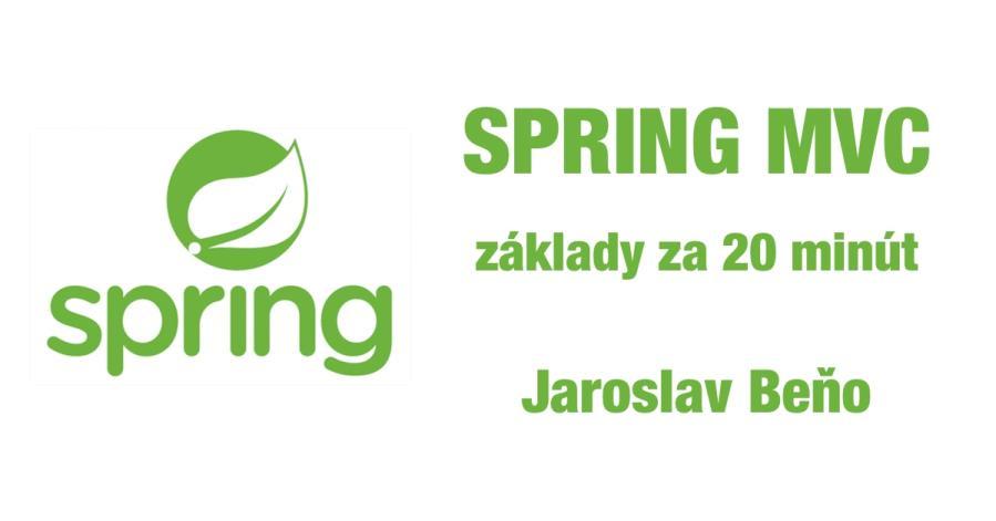 Spring MVC – základy 1