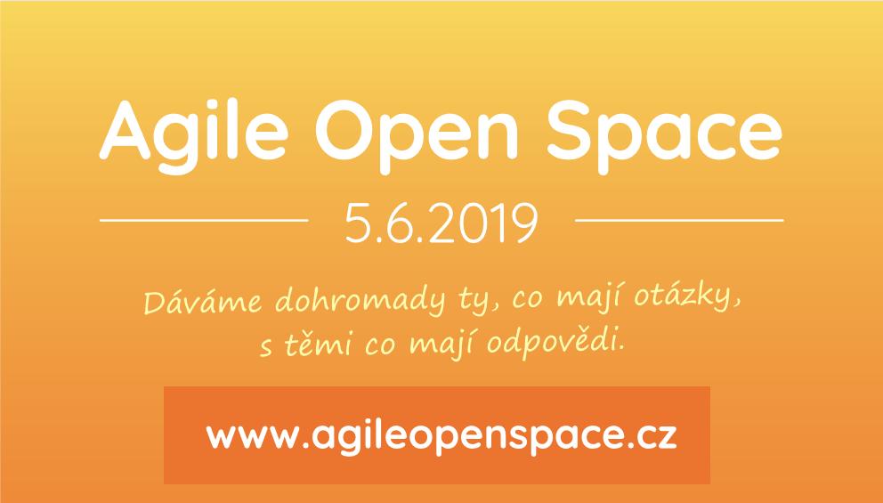 Nezmeškajte Agile Open Space 1