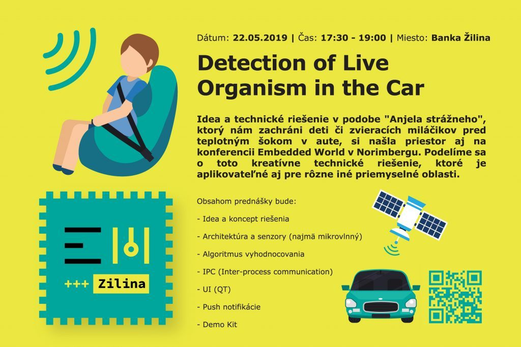 Detection of Live Organism in the Car