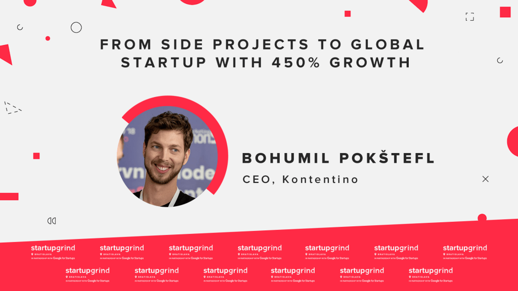Bohumil Pokštefl - From side projects to global startup with 450% growth 1