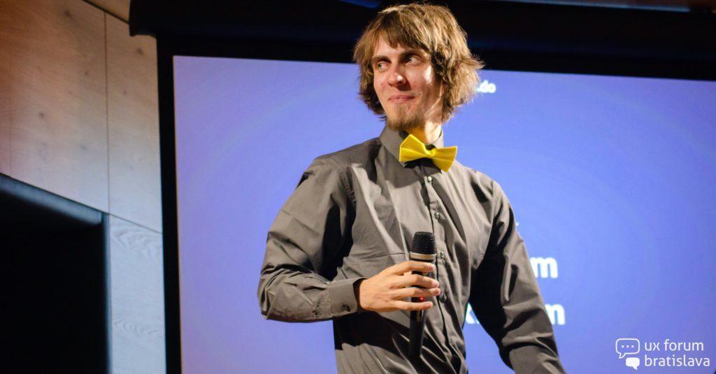 Tomáš Brza: UX je proces navrhovania, aby produkt robil ľudí šťastnými a nie frustrovanými. 1