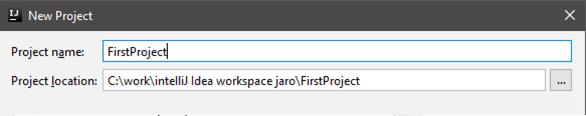 Prvý program v Jave