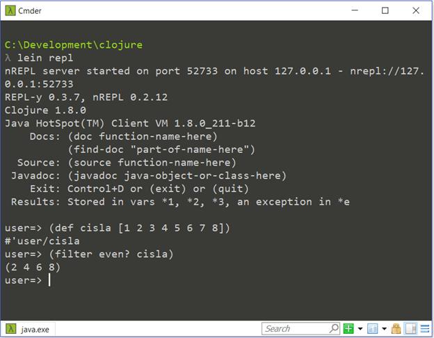 "Cloud, Containers, Clojure – lambda je ""sranda"" (1). 5"