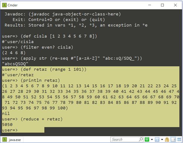 "Cloud, Containers, Clojure – lambda je ""sranda"" (1). 7"
