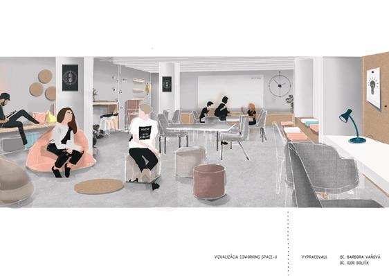 Nové študentské coworkingové priestory na MatFyze 11