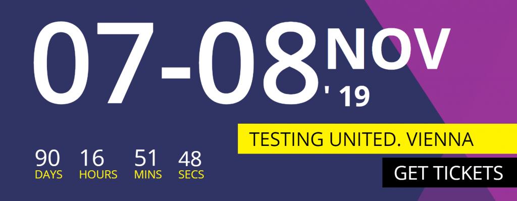 [Súťaž] 2. ročník testingovej konferencie TESTING UNITED 2019 1