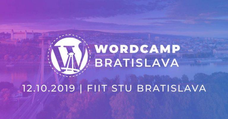 Wordcamp Bratislava 2019 je za dverami!