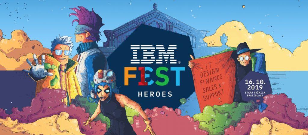 IBM Fest - Heroes 2019 ti ponúka možnosť sa stať hrdinom 1