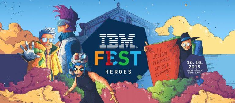IBM Fest – Heroes 2019 ti ponúka možnosť sa stať hrdinom