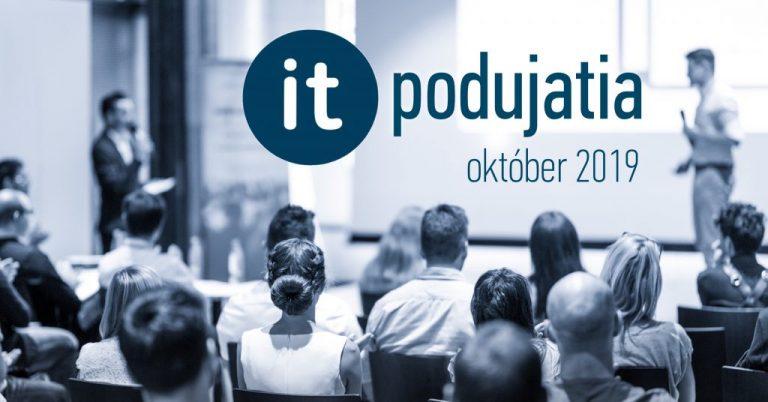 Aké IT podujatia sa oplatí navštíviť v októbri?