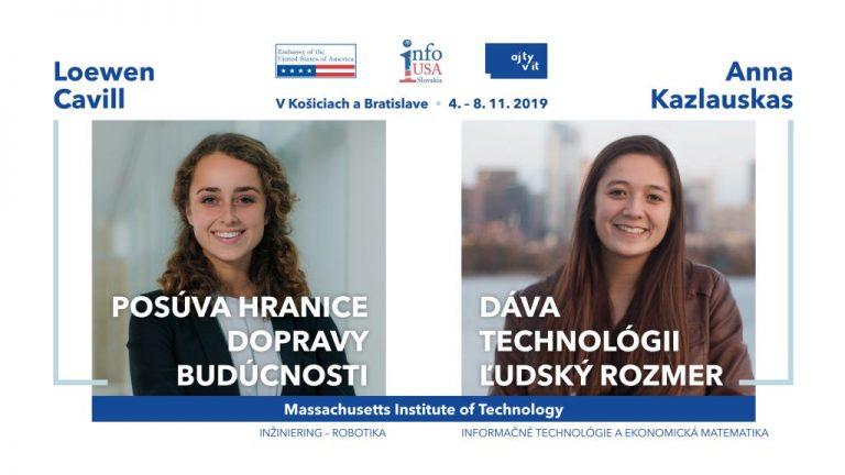 Slovensko navštívia inšpirujúce absolventky prestížnej americkej Univerzity Massachusetts Insttute of Technology
