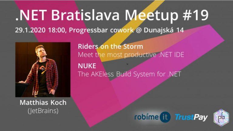 .NET Bratislava Meetup #19