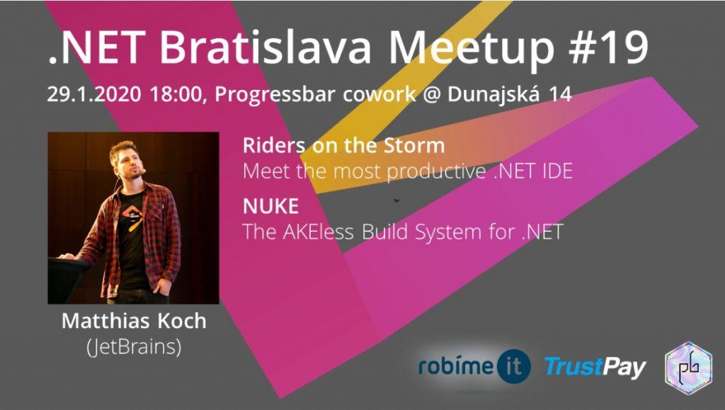 .NET Bratislava Meetup #19 1