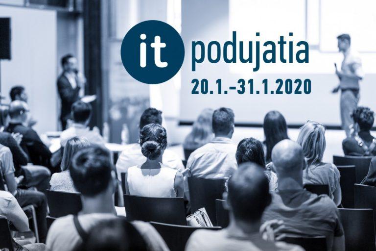 IT meetupy a podujatia – Január 2020