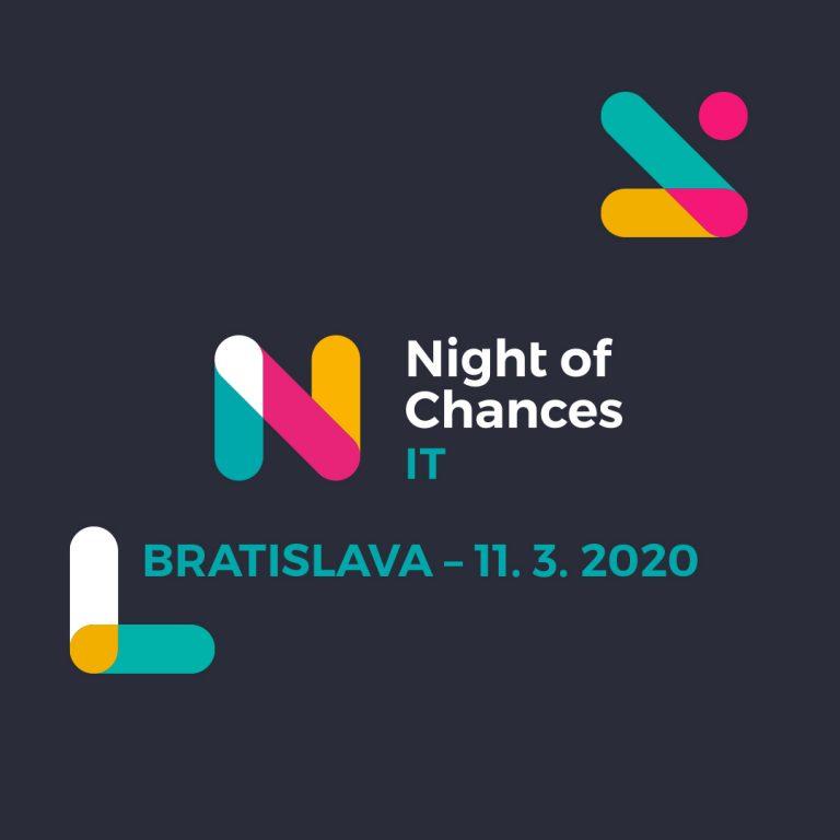 [Zľava na lístok] Čaká nás Night of Chances IT 2020 1
