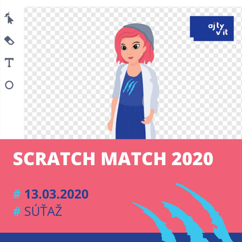 Štartuje štvrty ročník súťaže v kreatívnom programovaní dievčat SCRATCH MATCH 2020