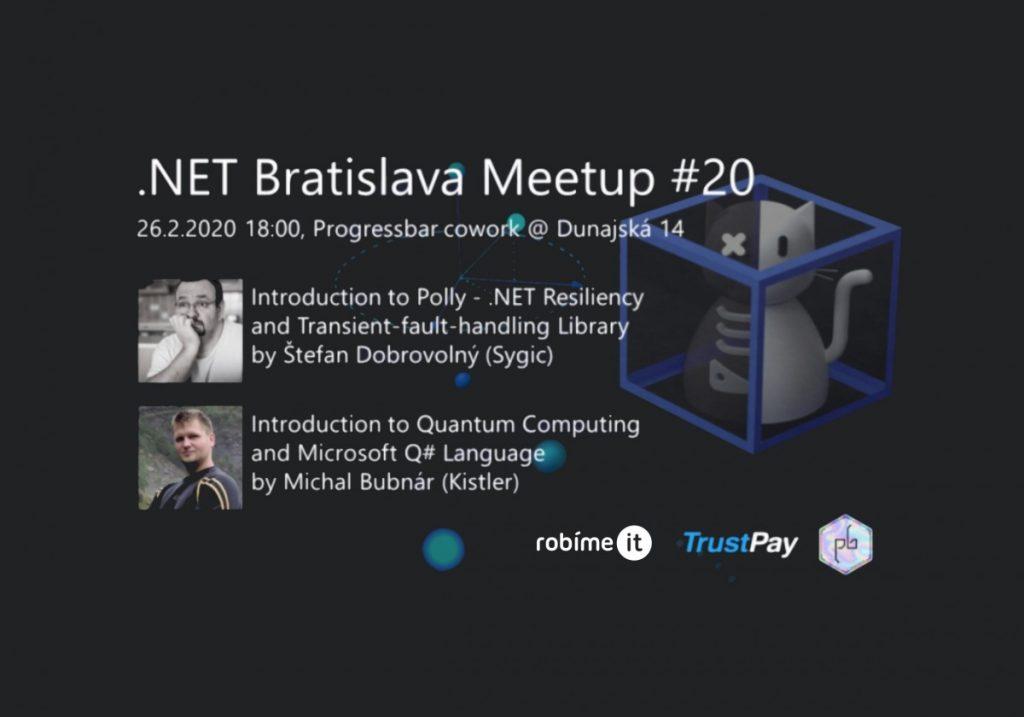 .NET Bratislava Meetup #20 1